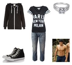 """""""Elena Black - Chapter 39"""" by emogirl19954 ❤ liked on Polyvore featuring CYCLE, Tacori, Miss Selfridge and Converse"""