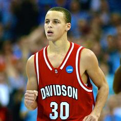 Stephen Curry. Moved to Charlotte before he was a year old. A graduate of Charlotte Christian School & Davidson College, where he was point guard for the Wildcats.