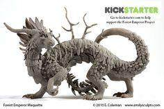 Forest Emperor Project Launch by emilySculpts.deviantart.com on @deviantART
