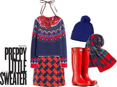 """""""Preppy Little Sweater"""" by thepoppynet on Polyvore"""