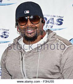 Bala Cynwyd, Pennsylvania, USA. 1st October, 2015. American R&B Singer-Songwriter Avant Poses at WDAS's Performance - Stock Photo