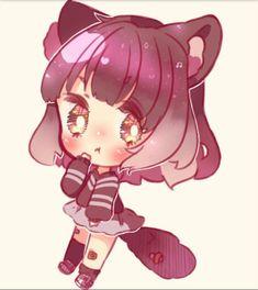 C Kawaii Neko Girl, Chibi, Cute, Anime, Drawings, Kawaii, Cartoon Movies, Anime Music, Animation
