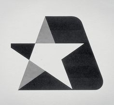 Armour Star logo #retro #logo #design