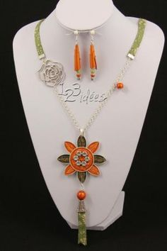 If you choose YOUR style . If you choose YOUR coffee,…… Quilling Jewelry, Paper Jewelry, Paper Beads, Bead Crafts, Diy Crafts, Bijoux Diy, Recycled Crafts, Jewelery, Creations