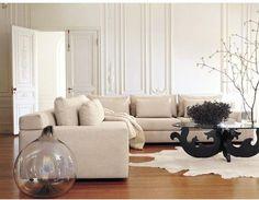 DWR sofa so laid back yet stylish