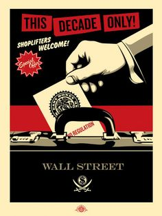 Shoplifters Welcome / Shepard Fairey