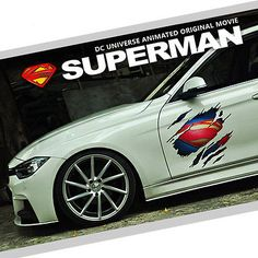 Superman Marvel Agents of SHIELD Car Auto Ipad Motor Logo Scratch Decal Sticker