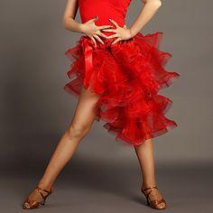2017 New Women Latin Dance Hip Scarf Black/Red Swing Skirt Ice Silk Cha Cha/Rumba Latin Performance Clothing For Dance How To Wear Leggings, Red Leggings, Tutu Skirt Women, Dresses With Vans, Baile Latino, Swing Skirt, Latin Dance, Red Skirts, Beach Dresses