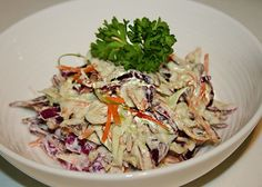 No-Mayo Raw Avocado Slaw | Reboot With Joe (Would like to try w/out the added oil)