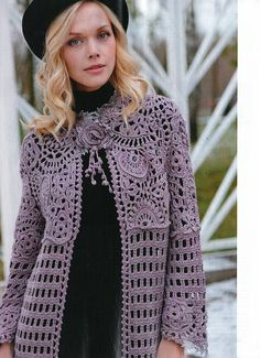Wonderful and Cool Crochet Cardigan Sweet Patterns and Ideas Part crochet cardigan pattern; crochet cardigan with hood; crochet cardigan plus size; Crochet Baby Pants, Crochet Coat, Crochet Jacket, Crochet Baby Booties, Crochet Clothes, Crochet Vests, Knitting Patterns Free, Free Pattern, Tricot