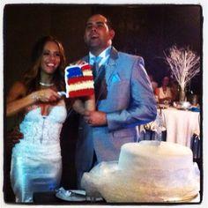 Usa wedding cake