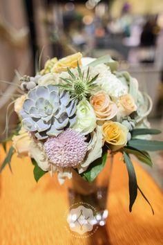 Bridal bouquet of Pantone colors = <3 www.budsnbloom.com