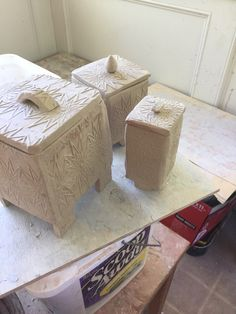 Clay boxes