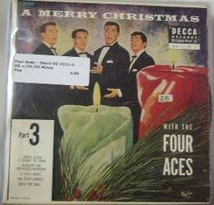 Four Aces ~ Decca ED 2311 45 EP w/ PS