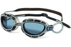 Zoggs - Predator Smoke / Silver Swim Goggles