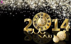 Happy New Year 2014 Greetings Wallpapers for Your Wishes Desktop