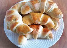 Dánvajas kifli Hot Dog Buns, Hot Dogs, Bagel, Bread, Food, Eten, Bakeries, Meals, Breads