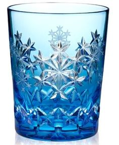 Waterford Drinkware, Snowflake Wishes for Goodwill Prestige Double Old Fashioned Glass