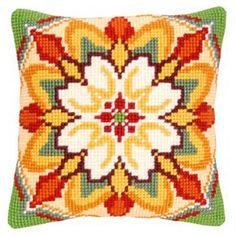 Набор для вышивания подушки Vervaco  Вервако Орнамент PN-0145873