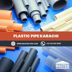 Plumbing is different in each house and there are many different types of pipe that can be used in a home. We provide best Plastic Pipe in Karachi. Call us today at 92 343 865 0000.