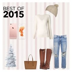 """I love winter!❤️"" by dasiaxo on Polyvore featuring Chloé, Current/Elliott, Naturalizer, Michael Kors and Billabong"