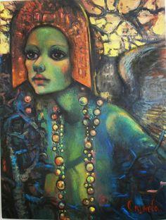 Olga Vasilyevna Okuneva, Born in Otradniy, Russia Lives and works in Amsterdam, the Netherlands. Film Dance, Edgar Degas, Art Music, Figurative Art, Female Art, Folk, Abstract, Artwork, Artist