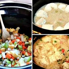 Crockpot Chicken And Dumplings - Great recipe for trailer camping!