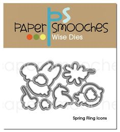 Spring Fling Icons Dies by #PaperSmooches