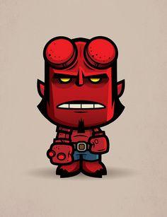 Lil Hellboy by Jerrod Maruyama, via Flickr
