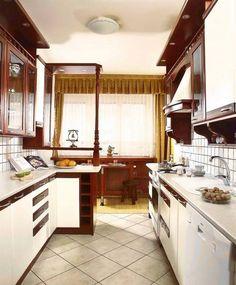 małe waskie jasne kuchnie - Szukaj w Google