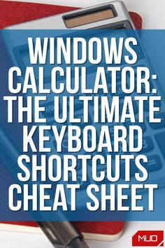 If you want to be a math whiz, you need to use your calculator like a pro. That's why we've put together this ultimate list of Windows Calculator keyboard shortcuts, which will help get you the answer you need as quickly as possible. #CheatSheet #Guide #Download #Shortcuts #Productivity #Windows #Windows10 #Microsoft #Calculator Simple Addition, Windows Software, Best Windows, Keyboard Shortcuts, Windows Operating Systems, Addition And Subtraction, Getting To Know You, Cheat Sheets, Calculator