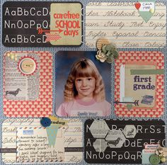 Carefree School Days - Scrapbook.com