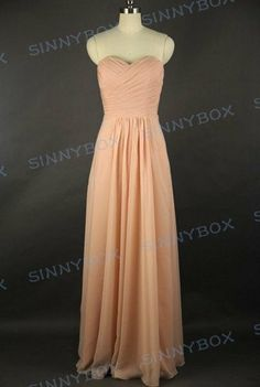 A line sweetheart bridesmaid dress, evening dress, prom dress, long dress, custom made