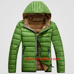 Jack Wolfskin Outdoor Down Jacket Hoodies Green
