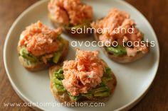 salmon avocado toast // ode to imperfection