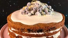 Lemon Blueberry Cornmeal Cake Recipe | The Chew - ABC.com