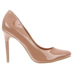 abe13ddcad Compre Scarpin Santa Lolla Bico Redondo Salto Alto Bege na Zattini a nova  loja de moda