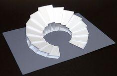 pop up - Baustil Conceptual Model Architecture, Architecture Model Making, Parametric Architecture, Paper Architecture, Pavilion Architecture, Futuristic Architecture, Interior Architecture, Architecture Portfolio, Landscape Architecture