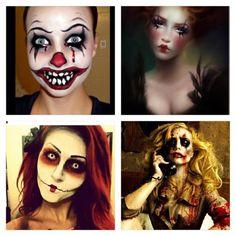 Halloween Facepaint Gallery