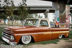 Tribal Gear's Kustom Kulture Shop Truck #automotive