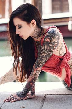 #girl #cute #hot #tattoo