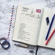 10 maneras de utilizar un diario de bala para el recorrido - ForeverGoodLife.com