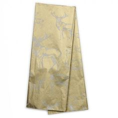 Wild stags gold tissue paper - 3 sheets