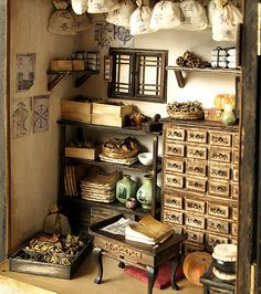 home herbal medicine pantry