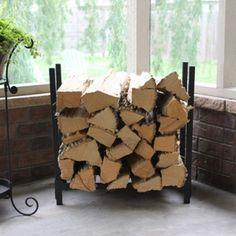 Woodhaven Fireside 2 Foot x 2 Foot Firewood Rack
