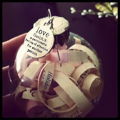 Wedding Ornament...... the bride and groom's wedding invitation to give as a sentimental wedding gift.