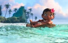 Baby Moana is adorable