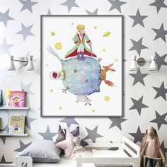 14 Delightfully Whimsical Ideas for Your Little Prince-Inspired Nursery   Brit + Co