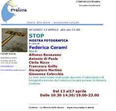 2007 04 13  STOP FOTOGRAFIE di  FEDERICA CERAMI