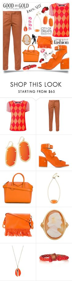"""Casual Style"" by justinallison ❤ liked on Polyvore featuring Sibling, Alberto Biani, Kendra Scott, Laurence Dacade, Givenchy, Loewe and Brigid Blanco"